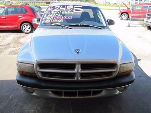 2001 Dodge Dakota for sale at HUGH WILLIAMS AUTO SALES in Lakeland FL