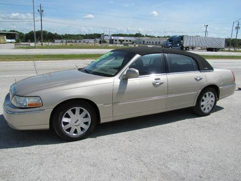 2005 Lincoln Town Car for sale at HUGH WILLIAMS AUTO SALES in Lakeland FL