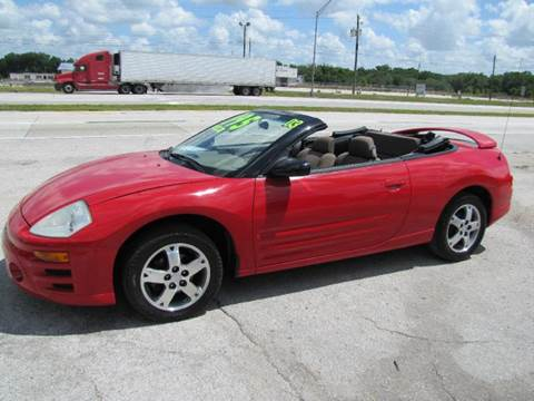 2003 Mitsubishi Eclipse Spyder for sale at HUGH WILLIAMS AUTO SALES in Lakeland FL