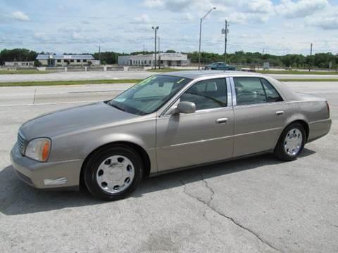 2001 Cadillac DeVille for sale at HUGH WILLIAMS AUTO SALES in Lakeland FL