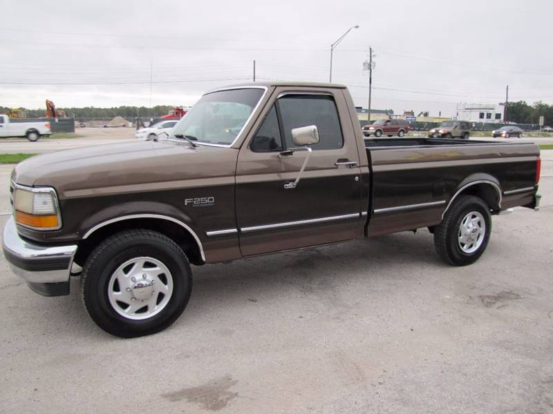 1993 Ford F-250 for sale at HUGH WILLIAMS AUTO SALES in Lakeland FL