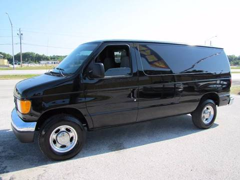 2007 Ford E-Series Cargo for sale at HUGH WILLIAMS AUTO SALES in Lakeland FL
