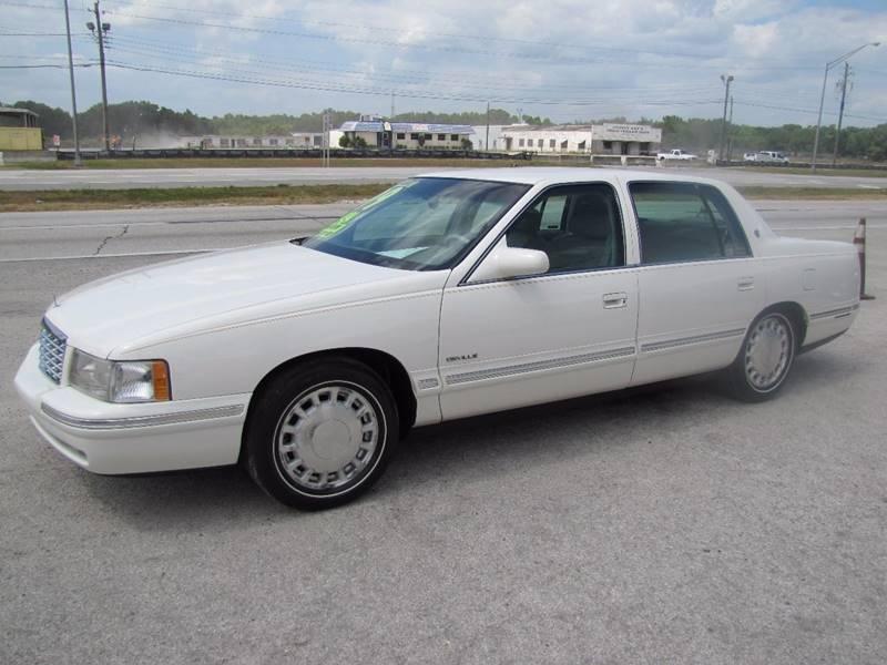 1999 Cadillac DeVille for sale at HUGH WILLIAMS AUTO SALES in Lakeland FL