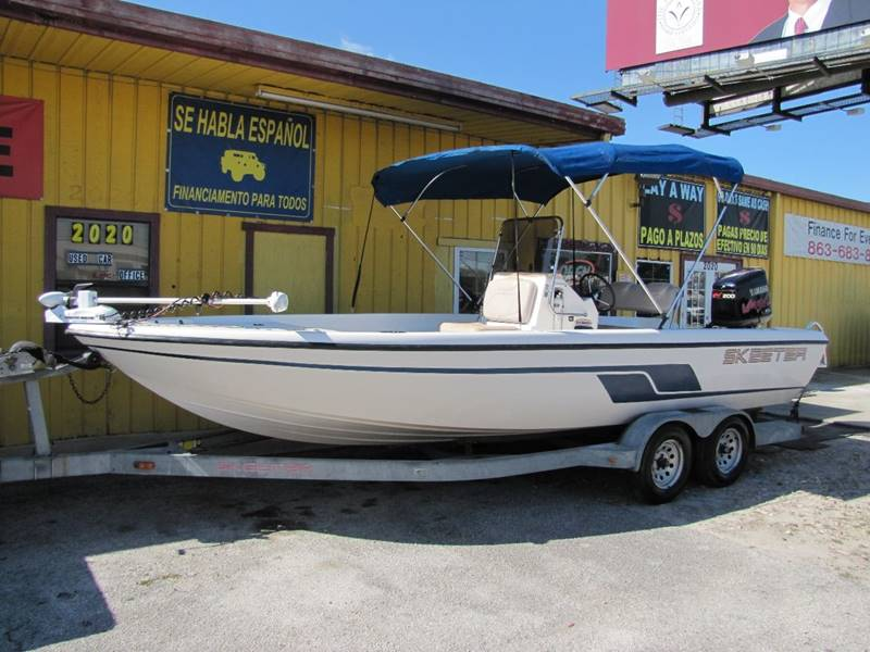 2000 Skeeter ZX2200T Trade for RV for sale at HUGH WILLIAMS AUTO SALES in Lakeland FL