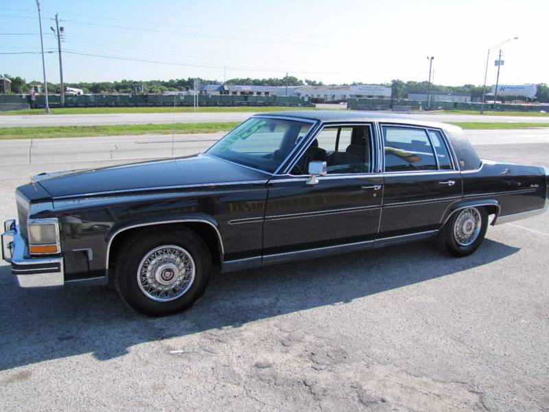 1986 Cadillac Fleetwood Brougham for sale at HUGH WILLIAMS AUTO SALES in Lakeland FL