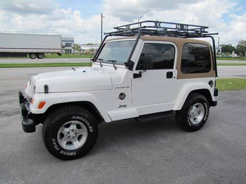 2002 Jeep Wrangler for sale at HUGH WILLIAMS AUTO SALES in Lakeland FL