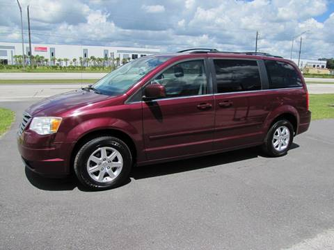 2008 Chrysler Town and Country for sale at HUGH WILLIAMS AUTO SALES in Lakeland FL