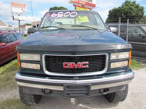 1998 GMC Sierra 1500 for sale at HUGH WILLIAMS AUTO SALES in Lakeland FL