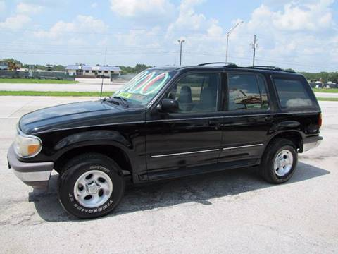 1996 Ford Explorer for sale at HUGH WILLIAMS AUTO SALES in Lakeland FL