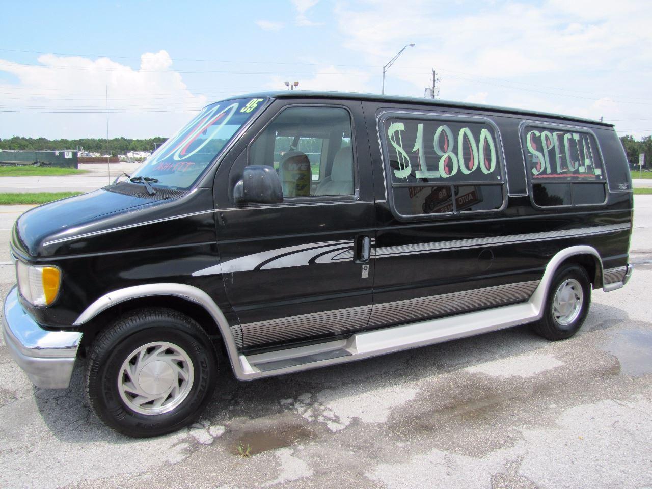 1995 Ford E 150 Conversion Van