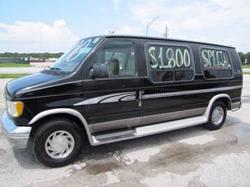1995 Ford E-150 Conversion Van for sale at HUGH WILLIAMS AUTO SALES in Lakeland FL