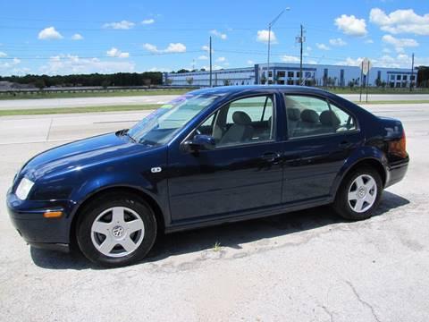 2002 Volkswagen Jetta for sale at HUGH WILLIAMS AUTO SALES in Lakeland FL