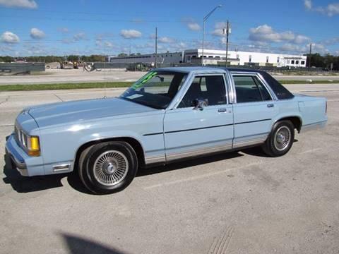 1988 Ford LTD Crown Victoria for sale at HUGH WILLIAMS AUTO SALES in Lakeland FL