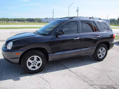 2004 Hyundai Santa Fe for sale at HUGH WILLIAMS AUTO SALES in Lakeland FL