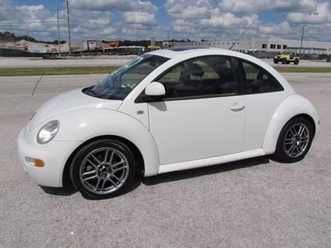 1999 Volkswagen New Beetle for sale at HUGH WILLIAMS AUTO SALES in Lakeland FL