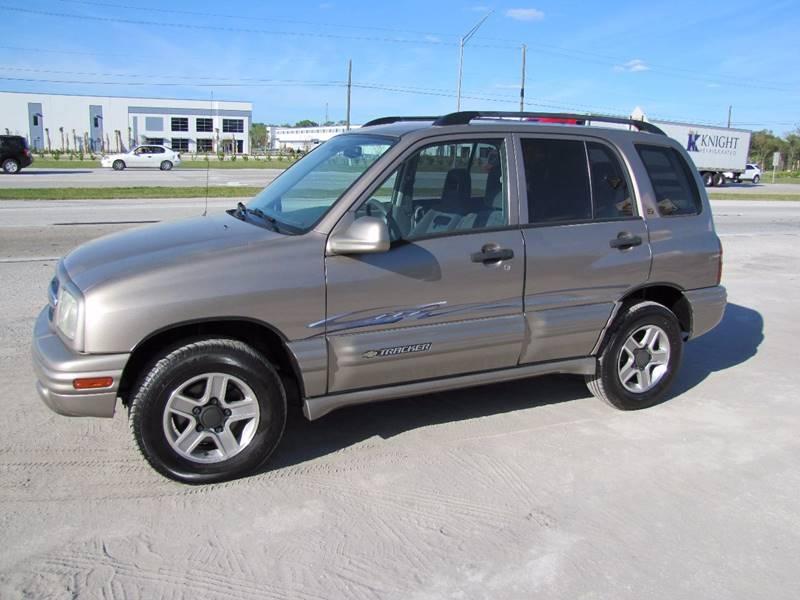 2003 Chevrolet Tracker for sale at HUGH WILLIAMS AUTO SALES in Lakeland FL