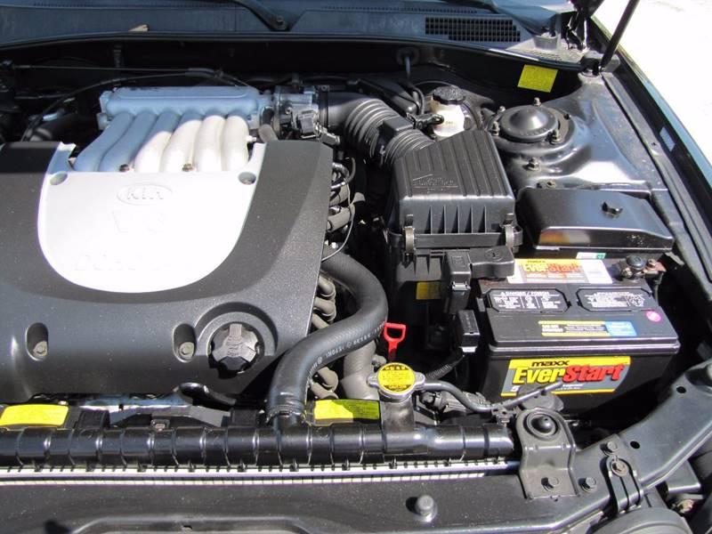 2004 kia optima ex v6 4dr sedan in lakeland fl hugh for 2004 kia optima motor