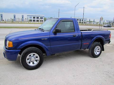 2004 Ford Ranger for sale at HUGH WILLIAMS AUTO SALES in Lakeland FL