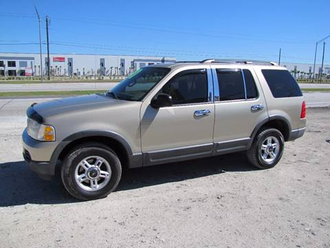 2003 Ford Explorer for sale at HUGH WILLIAMS AUTO SALES in Lakeland FL