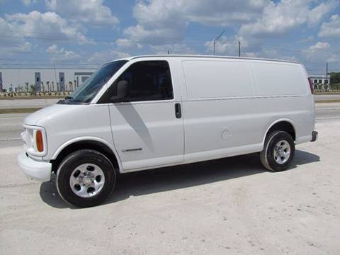 2000 Chevrolet Express Cargo for sale at HUGH WILLIAMS AUTO SALES in Lakeland FL