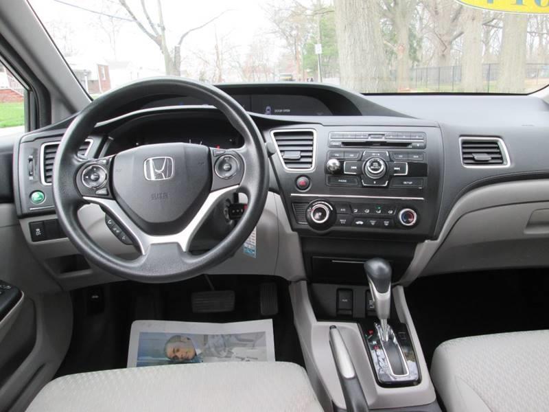 Honda Civic Hf >> 2014 Honda Civic Hf 4dr Sedan In Roselle Nj Sam S Auto World