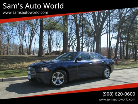 2014 Dodge Charger SE for sale at Sam's Auto World in Roselle NJ