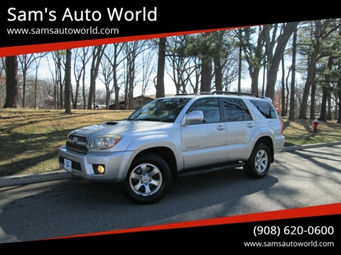 2008 Toyota 4Runner Sport Edition for sale at Sam's Auto World in Roselle NJ