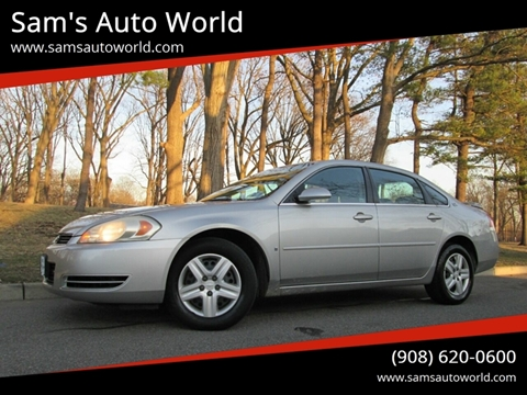 2006 Chevrolet Impala LS for sale at Sam's Auto World in Roselle NJ