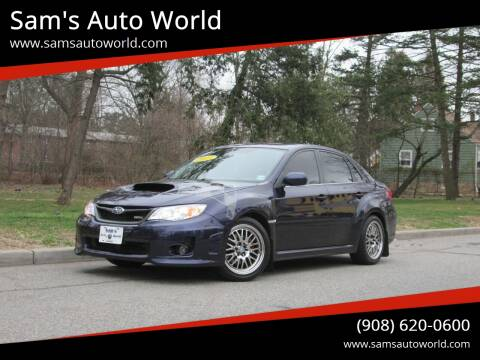 2013 Subaru Impreza WRX for sale at Sam's Auto World in Roselle NJ