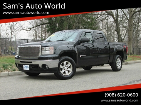 2009 GMC Sierra 1500 SLE for sale at Sam's Auto World in Roselle NJ