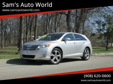 2010 Toyota Venza FWD V6 for sale at Sam's Auto World in Roselle NJ