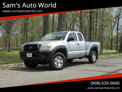 2008 Toyota Tacoma for sale at Sam's Auto World in Roselle NJ