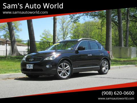 2012 Infiniti EX35 Journey for sale at Sam's Auto World in Roselle NJ