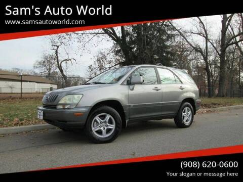 2002 Lexus RX 300 for sale at Sam's Auto World in Roselle NJ