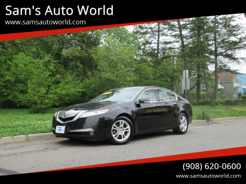 2010 Acura TL w/Tech for sale at Sam's Auto World in Roselle NJ