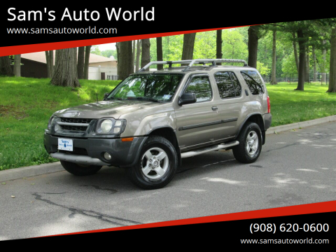 2004 Nissan Xterra XE for sale at Sam's Auto World in Roselle NJ