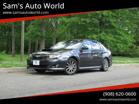 2009 Subaru Impreza WRX for sale at Sam's Auto World in Roselle NJ