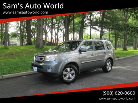 2009 Honda Pilot EX-L for sale at Sam's Auto World in Roselle NJ