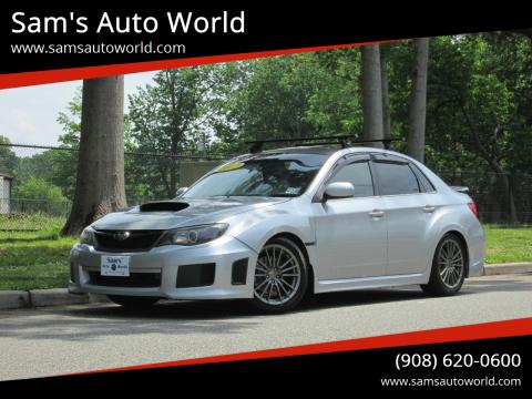 2012 Subaru Impreza WRX Limited for sale at Sam's Auto World in Roselle NJ