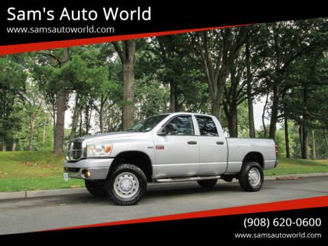 2009 Dodge Ram Pickup 2500 for sale at Sam's Auto World in Roselle NJ