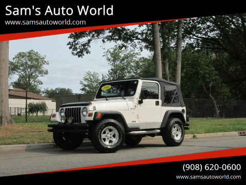 2006 Jeep Wrangler for sale at Sam's Auto World in Roselle NJ
