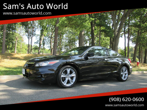 2012 Honda Accord for sale at Sam's Auto World in Roselle NJ