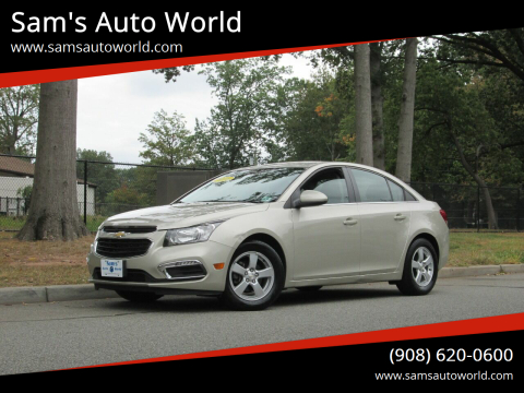2016 Chevrolet Cruze Limited for sale at Sam's Auto World in Roselle NJ