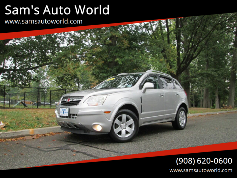 2008 Saturn Vue for sale at Sam's Auto World in Roselle NJ