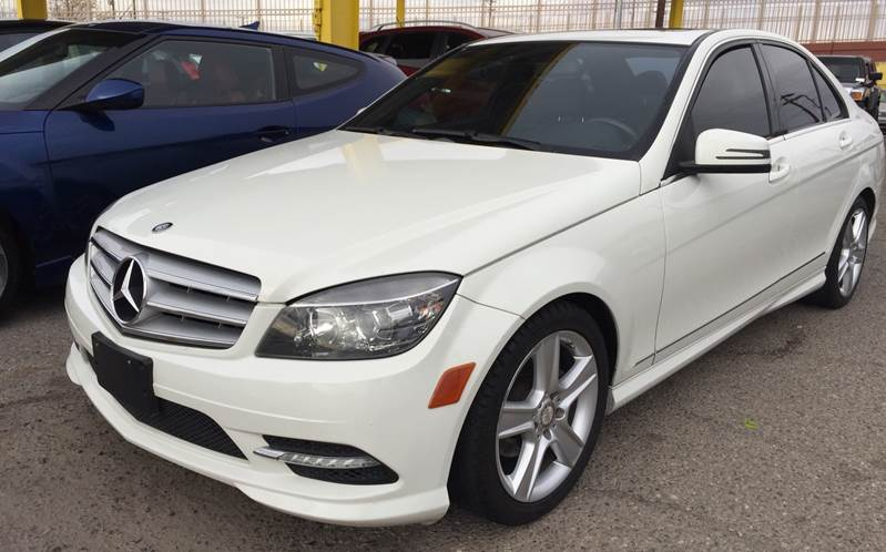 Mercedes El Paso >> 2011 Mercedes Benz C Class C 300 Sport 4dr Sedan In El Paso