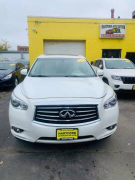 2013 Infiniti JX35 for sale at Hartford Auto Center in Hartford CT