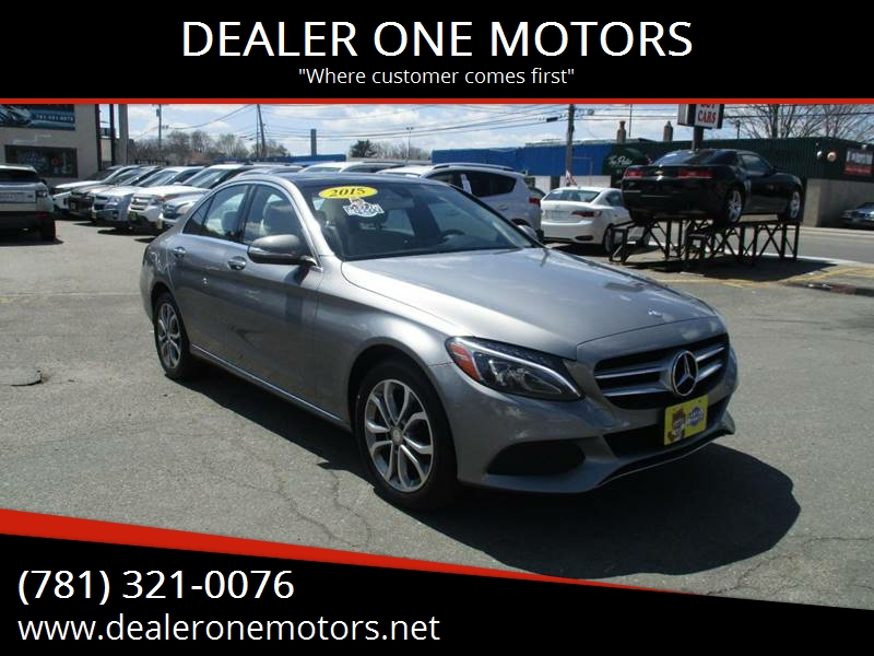 2015 Mercedes Benz C Class AWD C 300 4MATIC 4dr Sedan   Malden MA