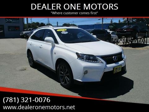 Lexus Dealers In Ma >> Lexus Rx 350 For Sale In Malden Ma Dealer One Motors