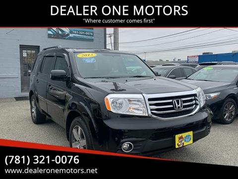 2013 Honda Pilot for sale in Malden, MA