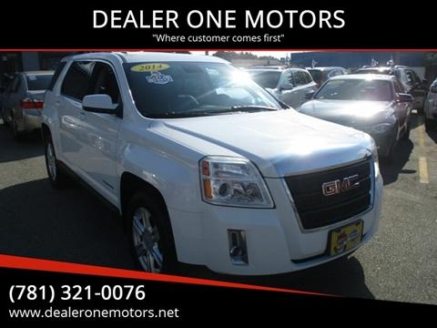 Gmc Dealers In Ma >> Gmc Terrain For Sale In Malden Ma Dealer One Motors